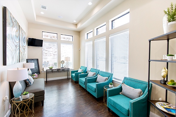 Southridge Dental office waiting room