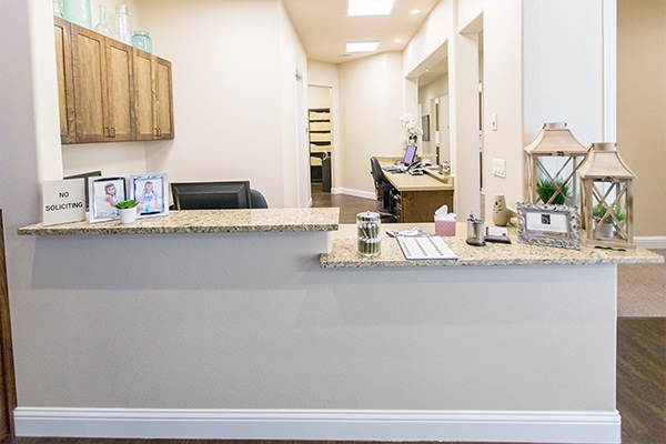 Southridge Dental office front desk