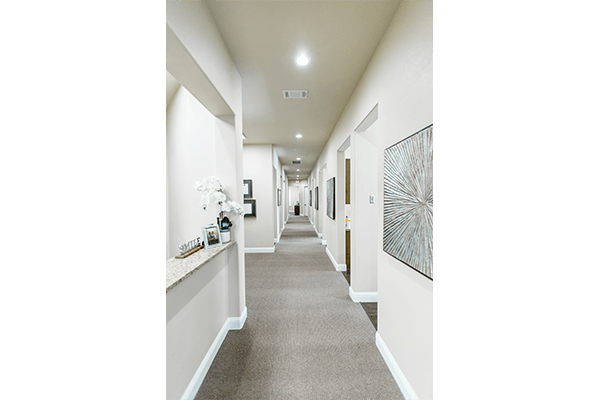 Southridge Dental office hallway